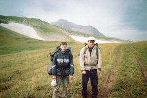 Горный поход по плато Лагонаки 2007