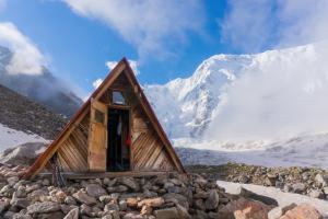 Смена новичков в альплагере Безенги 2015